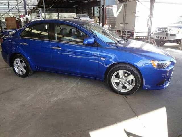 Used Mitsubishi Lancer CJ MY14.5 LX, 2014 Mitsubishi Lancer CJ MY14.5 LX Blue 5 Speed Manual Sedan