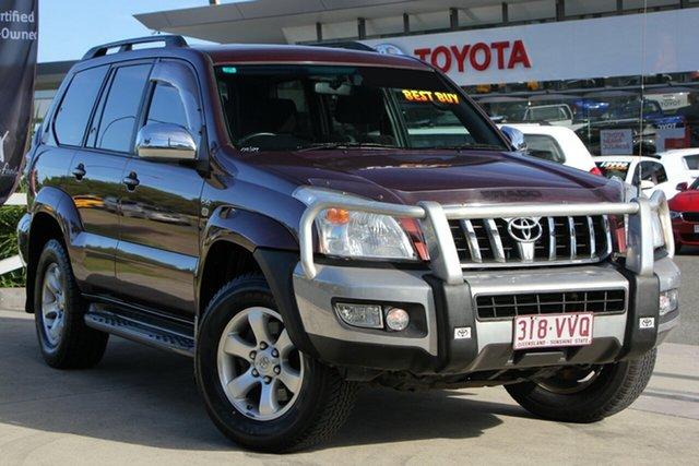 Used Toyota Landcruiser Prado KDJ120R GXL, 2009 Toyota Landcruiser Prado KDJ120R GXL Flinders Red 5 Speed Automatic Wagon