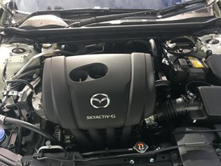 2019 Mazda 3 BP2H7A G20 SKYACTIV-Drive Pure White Pearl 6 Speed Sports Automatic Hatchback