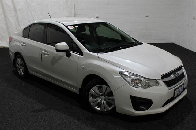 Used Subaru Impreza G4 MY12 2.0i Lineartronic AWD, 2012 Subaru Impreza G4 MY12 2.0i Lineartronic AWD White 6 Speed Constant Variable Sedan