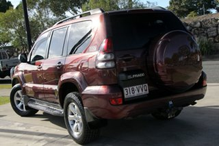2009 Toyota Landcruiser Prado KDJ120R GXL Flinders Red 5 Speed Automatic Wagon