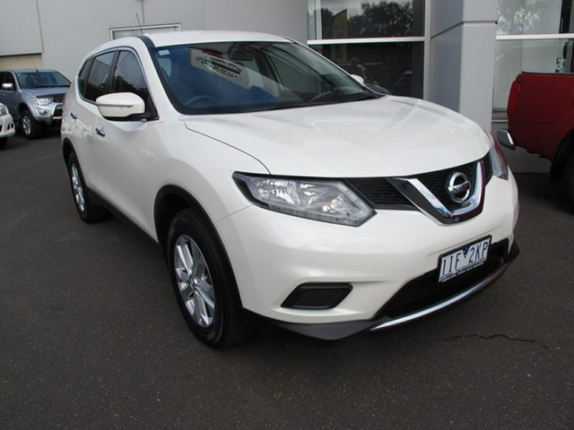 Used Nissan X-Trail T32 ST, 2016 Nissan X-Trail T32 ST Ivory Pearl Continuous Variable Wagon