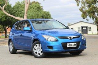 2011 Hyundai i30 FD MY11 SX Met Blue/cloth 4 Speed Automatic Hatchback