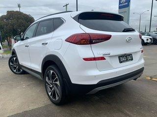 2019 Hyundai Tucson TL3 MY19 Highlander AWD White Pearl 8 Speed Sports Automatic Wagon.