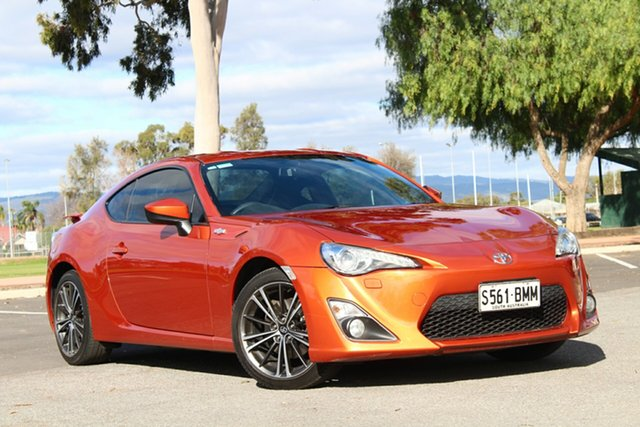 Used Toyota 86 ZN6 GTS, 2014 Toyota 86 ZN6 GTS Orange 6 Speed Sports Automatic Coupe