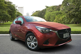 2019 Mazda 2 DJ2HAA Neo SKYACTIV-Drive Red 6 Speed Sports Automatic Hatchback.