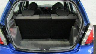 2011 Kia Rio JB MY11 S Blue 5 Speed Manual Hatchback