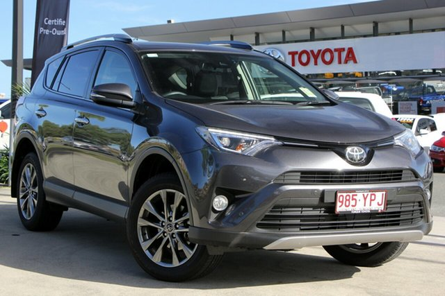 Demo Toyota RAV4 ASA44R Cruiser AWD, 2018 Toyota RAV4 ASA44R Cruiser AWD Graphite 6 Speed Sports Automatic Wagon
