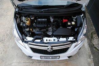 2014 Holden Barina Spark MJ MY14 CD Summit White 5 Speed Manual Hatchback