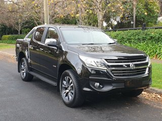 2018 Holden Colorado RG MY19 LTZ Pickup Crew Cab Black/Grey 6 Speed Sports Automatic Utility.