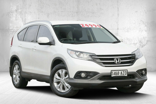 Used Honda CR-V RM MY15 VTi-S 4WD, 2014 Honda CR-V RM MY15 VTi-S 4WD White Orchid 5 Speed Sports Automatic Wagon