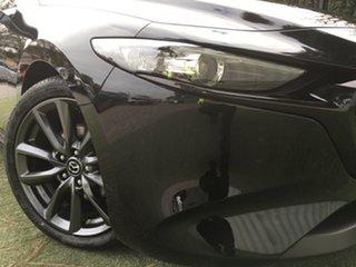 2019 Mazda 3 BP2HLA G25 SKYACTIV-Drive GT Jet Black 6 Speed Sports Automatic Hatchback.