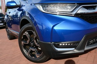 2018 Honda CR-V RW MY18 VTi-LX 4WD Brilliant Sporty Blue 1 Speed Constant Variable Wagon.