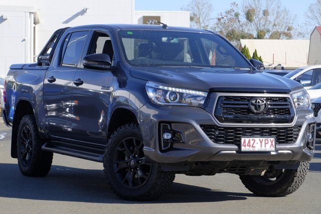 Used Toyota Hilux GUN126R Rogue Double Cab, 2018 Toyota Hilux GUN126R Rogue Double Cab Slate Grey 6 Speed Sports Automatic Utility