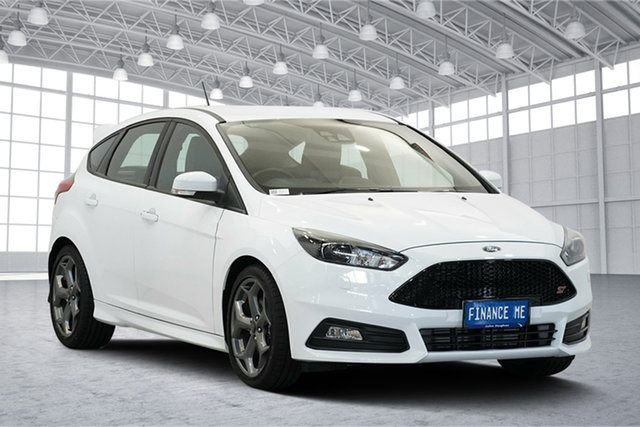 Used Ford Focus LZ ST, 2018 Ford Focus LZ ST White 6 Speed Manual Hatchback