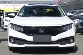 2020 Honda Civic 10th Gen MY20 VTi-LX Platinum White 1 Speed Constant Variable Sedan