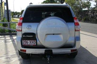 2017 Toyota Landcruiser Prado GDJ150R GXL Silver Pearl 6 Speed Manual Wagon
