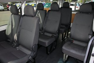 2013 Toyota HiAce KDH223R MY12 Commuter High Roof Super LWB Vanilla/grey 4 Speed Automatic Bus
