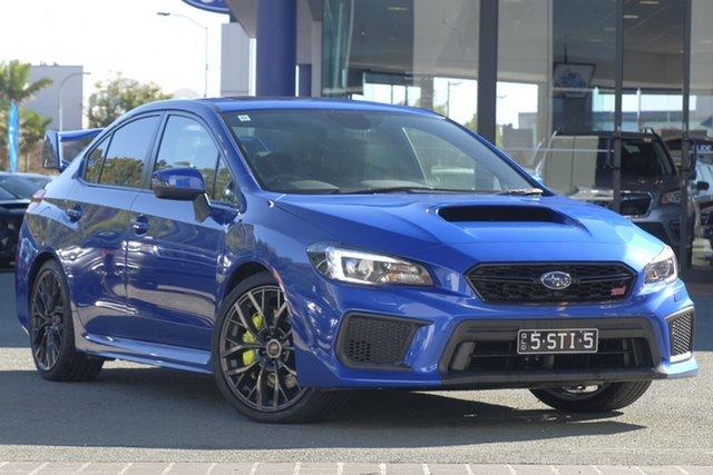 Demo Subaru WRX V1 MY18 STI AWD spec.R, 2018 Subaru WRX V1 MY18 STI AWD spec.R WR Blue Mica 6 Speed Manual Sedan