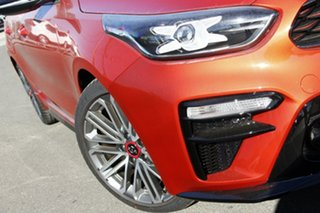 2020 Kia Cerato BD MY21 GT DCT Sunset Orange 7 Speed Sports Automatic Dual Clutch Hatchback.