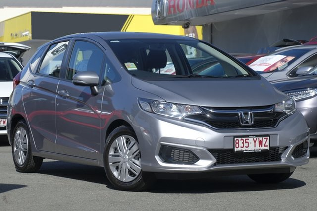 Demo Honda Jazz GF MY19 VTi, 2019 Honda Jazz GF MY19 VTi Lunar Silver 1 Speed Constant Variable Hatchback