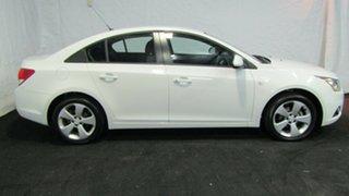 2014 Holden Cruze JH Series II MY14 Equipe Heron White 6 Speed Sports Automatic Sedan.