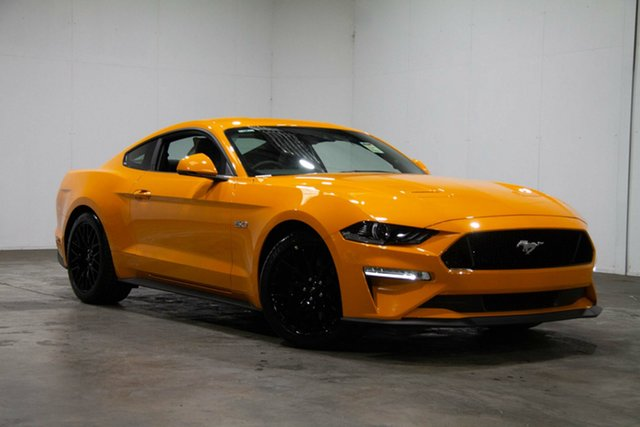 Used Ford Mustang FN 2019MY GT Fastback SelectShift RWD, 2019 Ford Mustang FN 2019MY GT Fastback SelectShift RWD Orange 10 Speed Sports Automatic Fastback