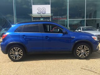 2018 Mitsubishi ASX XC MY19 ES 2WD ADAS Blue 6 Speed Constant Variable Wagon.