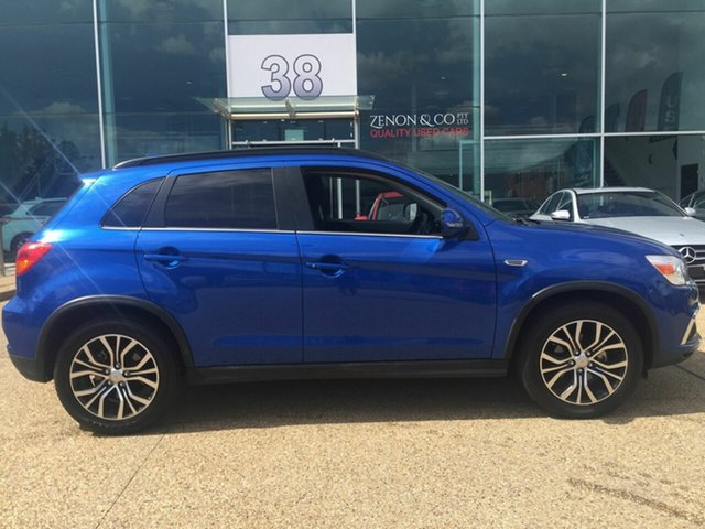 Used Mitsubishi ASX XC MY19 ES 2WD ADAS, 2018 Mitsubishi ASX XC MY19 ES 2WD ADAS Blue 6 Speed Constant Variable Wagon
