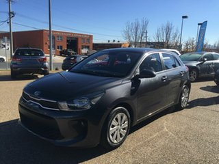2017 Kia Rio YB MY18 S Grey 4 Speed Sports Automatic Hatchback.