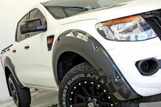 2014 Ford Ranger PX XL 2.2 Hi-Rider (4x2) White 6 Speed Manual Crew Cab Pickup.