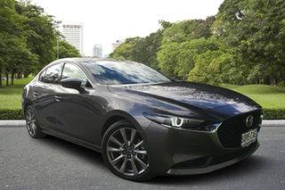 2019 Mazda 3 BP2SLA G25 SKYACTIV-Drive Astina Machine Grey 6 Speed Sports Automatic Sedan.