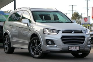 2017 Holden Captiva CG MY17 LTZ AWD Sovereign Silver 6 Speed Sports Automatic Wagon.