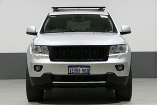 2012 Jeep Grand Cherokee WK MY12 Overland (4x4) Silver 5 Speed Automatic Wagon.