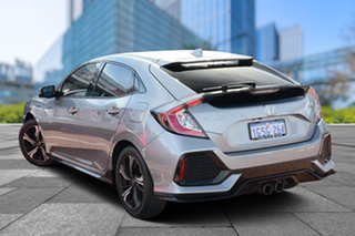 2019 Honda Civic 10th Gen MY18 RS Lunar Silver 1 Speed Constant Variable Hatchback.