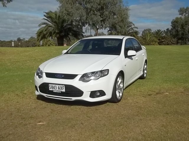 Used Ford Falcon FG MkII XR6, 2012 Ford Falcon FG MkII XR6 White 6 Speed Sports Automatic Sedan