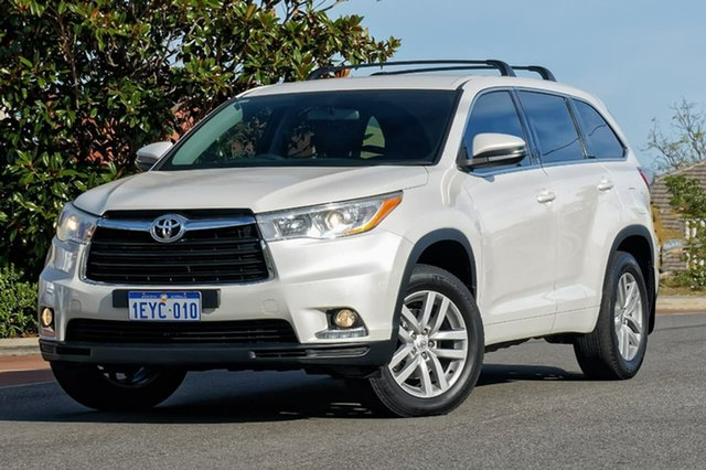 Used Toyota Kluger GSU55R GX AWD, 2015 Toyota Kluger GSU55R GX AWD White 6 Speed Sports Automatic Wagon