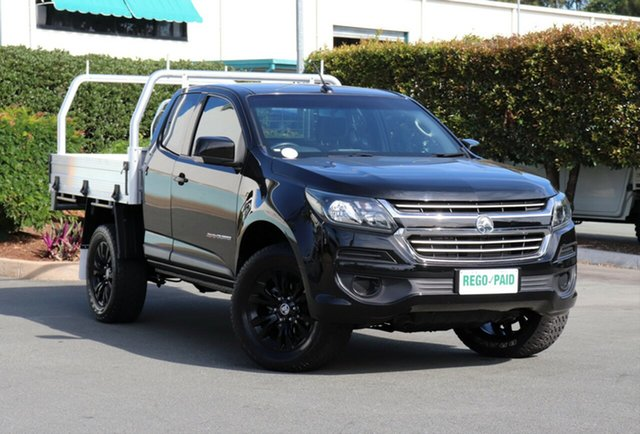 Used Holden Colorado RG MY17 LS Space Cab, 2017 Holden Colorado RG MY17 LS Space Cab Black 6 Speed Sports Automatic Cab Chassis