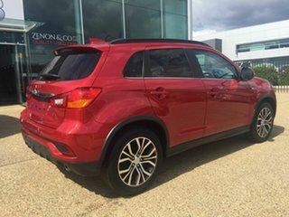 2018 Mitsubishi ASX XC MY18 LS 2WD Red 6 Speed Constant Variable Wagon.