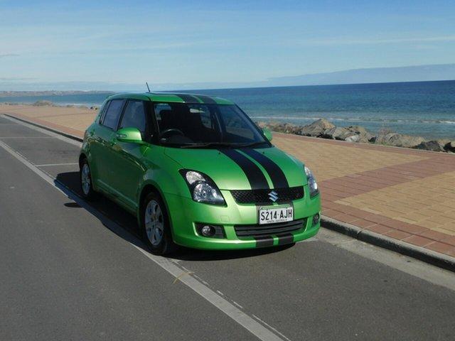 Used Suzuki Swift RS415 RE4, 2010 Suzuki Swift RS415 RE4 Green & Black 5 Speed Manual Hatchback
