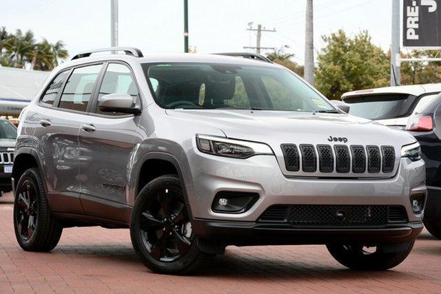 Used Jeep Cherokee KL MY19 Night Eagle, 2019 Jeep Cherokee KL MY19 Night Eagle Billet 9 Speed Sports Automatic Wagon