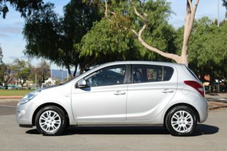 2011 Hyundai i20 PB MY11 Active Silver 4 Speed Automatic Hatchback