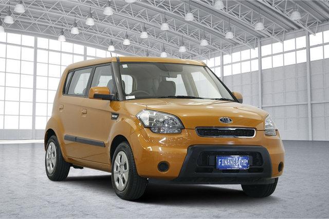 Used Kia Soul AM MY10 2, 2010 Kia Soul AM MY10 2.0 Orange 5 Speed Manual Hatchback