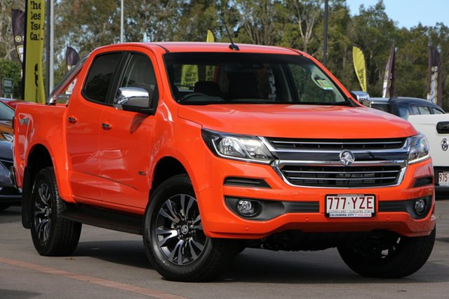 Demo Holden Colorado RG MY19 LTZ Pickup Crew Cab, 2019 Holden Colorado RG MY19 LTZ Pickup Crew Cab Orange Crush 6 Speed Sports Automatic Utility