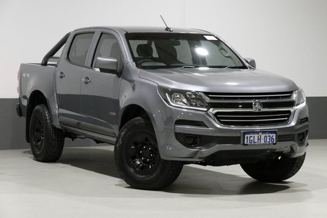 Used Holden Colorado RG MY17 LS (4x4), 2017 Holden Colorado RG MY17 LS (4x4) Grey 6 Speed Automatic Crew Cab Pickup