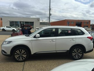 2018 Mitsubishi Outlander ZL MY19 ES AWD White 6 Speed Constant Variable Wagon