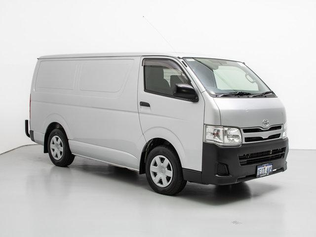 Used Toyota HiAce KDH201R MY12 Upgrade LWB, 2013 Toyota HiAce KDH201R MY12 Upgrade LWB Silver 4 Speed Automatic Van