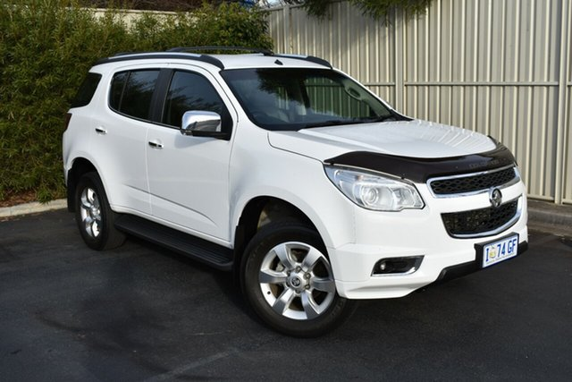 Used Holden Trailblazer RG MY17 LTZ, 2016 Holden Trailblazer RG MY17 LTZ White 6 Speed Sports Automatic Wagon