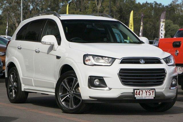 Demo Holden Captiva CG MY18 LTZ AWD, 2018 Holden Captiva CG MY18 LTZ AWD Summit White 6 Speed Sports Automatic Wagon