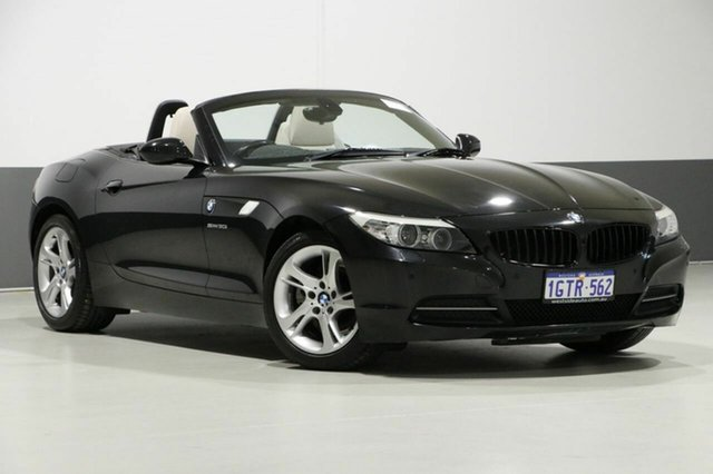 Used BMW Z4 E89 MY11 sDrive 30I, 2011 BMW Z4 E89 MY11 sDrive 30I Black 6 Speed Manual Roadster